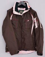 Women Peak Performance Skiing Snowboarding Jacket Recco Gore Tex M XIL56