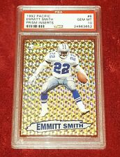 EMMITT SMITH 1992 PACIFIC #6 LIMITED EDITION PRISM INSERTS PSA 10 ☆ A BEAUTY