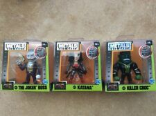 3 NEW Jada Metals Suicide Squad 2.5 Joker Boss M428 Katana M432 Killer Croc M430