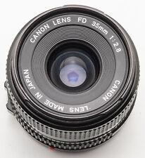 Canon FD Lens 35mm 1:2.8 2.8 35 mm - AE-1 F-1 A-1