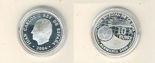 España 10 euro 2004 copa del mundo en alemania plata pp (m00419)