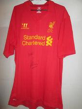 Pepe Reina Firmado 2012-2013 Liverpool Home Football Shirt Con Coa / 20859