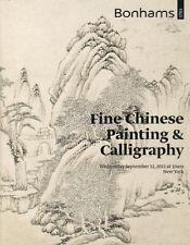 BONHAMS Chinese Paintings Calligraphy Auction Catalog 2012
