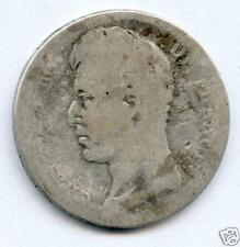 TRES RARE 2 FRANC CHARLES X ARGENT 1826 M TOULOUSE TOP