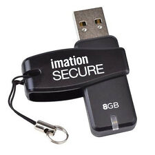 IMATION Secure Software Encrypted 8GB USB 2.0 Flash Drive - PASWORD PROTECTION