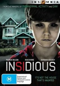 Insidious : NEW DVD