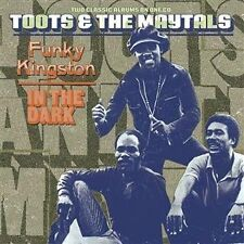 TOOTS & THE MAYTALS Funky Kingston/In The Dark CD NEW 2 Albums On One CD