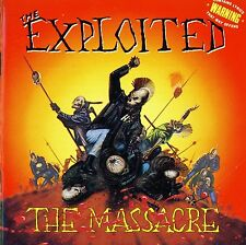 EXPLOITED - The Massacre - DIGIPACK CD (RE - ISSUE 2014)