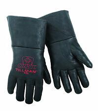 Tillman 45 LARGE MIG Welding Gloves Black ONYX Top Grain Pigskin Leather 1 Pair