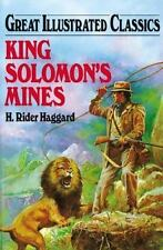 Great Illustrated Classics King Solomon's Mines Hardcover Brand NEW