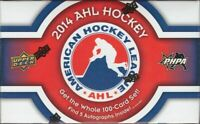 2013-14 Upper Deck AHL Hockey Factory Sealed Set - 5 Autos per Box!