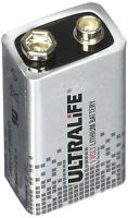 Ultralife 9v U9VLJ lithium Battery