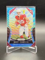 2019 PRIZM ANDY ISABELLA ROOKIE BLUE SILVER WAVE /65/199. CARDINALS MINT CARD