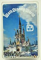 Vintage Walt Disney World Playing Cards Poker Game Souvenir Deck Castle Florida
