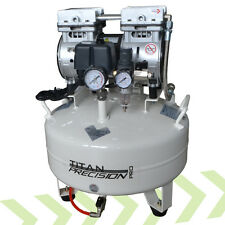 Titan Precision 22L Silent Quiet Dental Medical Clinic Oil Free Air Compressor