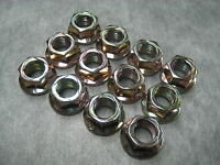10mm Exhaust Manifold Flange Lock Nuts M10x1.25 - Pack of 12 - Ships Fast!