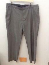 Burton Grigio Su Misura Pantaloni Gamba Affusolata. 40R. < N1400