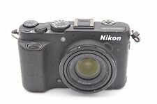 Nikon Coolpix P7700 12.2mp 7.1X ZOOM FOTOCAMERA DIGITALE NERA