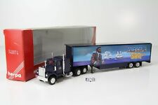 """Herpa GMC Box semitrailer """"500 years America"""" No. 140874 /H5066-1"""