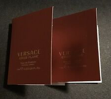 Versace 'Eros Flame' For Men Pour Homme Perfume 2x Spray Vials NEW