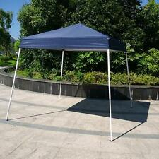 8'x 8' Outdoor Sun Shade Sport Ez Pop-Up Canopy Party Weeding Tent Gazebo Blue