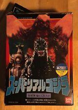 Godzilla Vs. Space Godzilla Bandai Mini-Figures