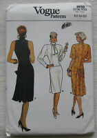 Vintage Dress Sewing Pattern*Vogue 9650*Sz 12-16*UNCUT/FF*sleeveless*cocktail