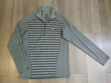 Patagonia Capilene3 Midweight Mens 1/4 Zip Neck Pullover Grey Size Medium