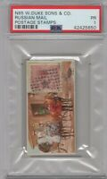 1889 N85 W.Duke Sons & Co. Postage Stamps Russian Mail Graded PSA 1