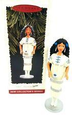 Hallmark Ornament Native American Barbie Doll of The World Collector Series 1996
