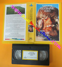 VHS film YUKON LA GRANDE AVVENTURA 1989 NATIONAL GEOGRAPHIC VIDEO (F106*) no dvd