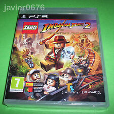LEGO INDIANA JONES 2 THE ADVENTURE CONTINUES NUEVO PRECINTADO PAL ESPAÑA PS3