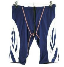 Tyr Blue White Cycling Triathlon Tri Shorts Unisex Adult Size 32