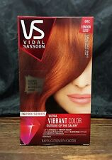 VIDAL SASSOON Pro Series London Luxe Hair Color, #6RC Bold Copper Citrine