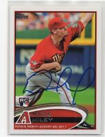 WADE MILEY Signed Autograph 2012 Topps Update Baseball Card D-Backs RC #US5 COA
