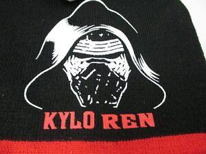 Disney Star Wars KYLO REN Knit Cap Black Warm Kids Beanie Hat NWT