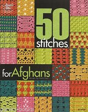 50 Stitches for Afghans Crochet Instruction Pattern Book Annie's Attic 2010 NEW