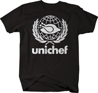 Unichef Funny World Peace Chef Cook Culinary Tshirt