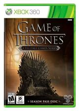 NEW Game of Thrones A Telltale Game Series (Microsoft Xbox 360, 2015)