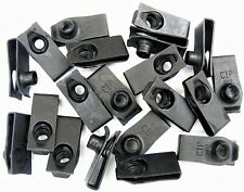 """Ford U-nut Clips- 1/4-20 Thread- 25/32"""" Center To Edge- 20 clips- #188"""