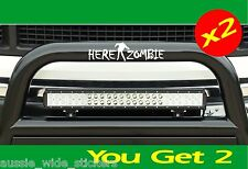 ZOMBIE (x 2) Funny Car 4x4 Stickers For Offroad 4wd Ute or Wagon with Bullbar