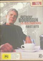 Anthony Bourdain - No Reservations First Bite : Season 1 (DVD, 2010, 2-Disc Set)