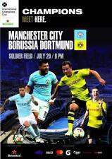 Programm Manchester City V Borussia Dortmund 2018 Champions Cup. inoffizielle