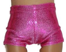 "SHINY HOT PINK BOY SHORTS - Dance/Cheer - Fits 18"" American Girl Dolls"