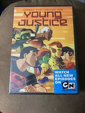 YOUNG JUSTICE: SEASON ONE, VOL. 1 DVD Sealed