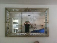 VERY FINE LARGE VENETIAN WALL MIRROR