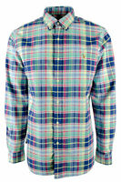 Polo Ralph Lauren Men's Big and Tall Oxford Plaid Shirt