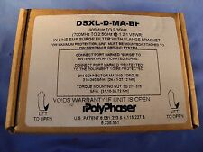 Polyphaser DSXL-D-MA-BF 800MHz-2.3GHz In-Line Surge Filter (NIB)