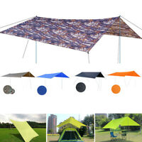 Waterproof Awning Sunshade Sunscreen Tent Tarp for Outdoor Camping Picnic Patio