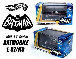 HOT WHEELS RLC TV Series 1966 Batmobile 1:87 HO Scale RARE 2007